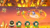 56 葫芦娃游戏,第五章火焰洞窟第11关,南极仙翁的炼丹炉