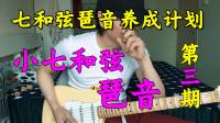 【大猫儿吉他教学】电吉他常用几种小七和弦琶音(即兴必练)