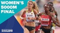 女子5000米决赛 - 2019田径世锦赛(多哈)
