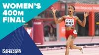 女子400米决赛 - 2019田径世锦赛(多哈)