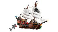 乐高(LEGO)积木:创意百变系列31109海盗船套装模型拼插