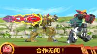 百兽总动员:阿汉牵制青岛龙,龙星仔趁机使用玛君龙银河石打败它