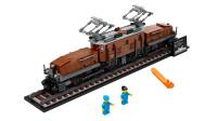 乐高积木:创意高手系列10277瑞士传奇鳄鱼火车头