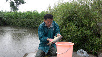 滑漂江河钓鱼