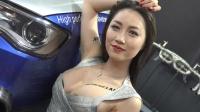 中国上海车展漂亮性感美女模特秀