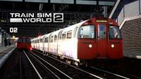 奇特线名,烘焙师专用洗手间【1972型-英国伦敦地铁贝克卢线-模拟火车世界2】