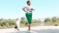 彩苒广场舞【前面那个姑娘】时尚动感易学健身舞附背面