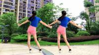 最新广场舞火了,健身64步《笑纳》背面演示