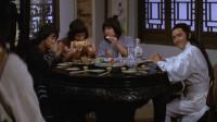 土豪请仨叫花子吃肉,仇人前来找茬,全被叫花子摆平了
