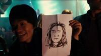 这幅画像是甄子丹,你们是怎么看出来的