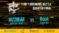 JAZZBEAR vs ROUT   8强