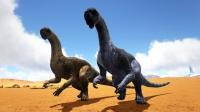 方舟生存进化:冰山遇到奇特恐龙 上古飞龙的近亲