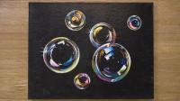 手工绘画教程,彩色气泡的简单画法!