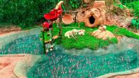 """小伙为饲养动物,徒手打造""""动物城堡"""",成品太惊艳了!"""