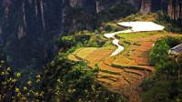 """中国最""""牛""""的耕地,藏在悬崖峭壁上,凭借绝美景色吸引万千游客"""