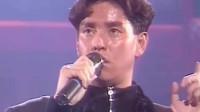 1987年谭咏麟宣布不再参加任何音乐比赛,随后一曲《无言感激》唱到哽咽