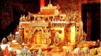 全世界最豪的寺庙,珍宝无数价值连城,光黄金就用了3700公斤
