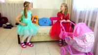 美国儿童时尚,小萝莉有新的独角兽娃娃与洋娃娃,一起来看看吧