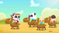骆驼运输队重走丝绸之路了吗? 宝宝巴士科学岛 妙妙探险家 神奇的大发现 陌上千雨解说