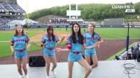 职棒联赛中场舞🍒美女啦啦队养眼超嗨动感热舞