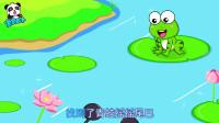 《宝宝巴士儿歌》小蝌蚪找妈妈,我们第一部水墨动画片素材,满满的童年记忆啊