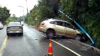交通事故合集:好奇葩的新手上路,遇上手动挡就尴尬了
