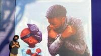 迪士尼市中心特区致敬黑豹男主 经典手势艺术画令人泪目