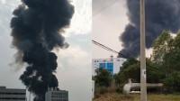 合肥一工厂反应釜泄漏起火致2死3伤 目击者:轰的一声腾起大火
