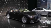 2020北京车展 奔驰S500L/改款E级/V260L