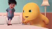 小奶龙:奶龙,你知道你压坏了多少张床了吗
