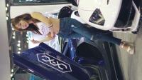 汽车车展汽车沙龙赛车模型Seo Jin-ah#牛仔裤长腿模特