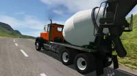 挖掘机视频720大卡车运输挖土机+挖机工作+工程车工程车