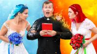 冷新娘PK热新娘,同时争抢一位神父,全程爆笑连连!