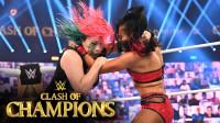 2020冠军争霸大赛 RAW女子冠军赛 泽莉娜维加挑战明日华 实力悬殊