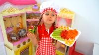 萌娃们制作的健康食物,爸爸更喜欢谁的呢?
