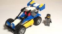乐高MOC:创意百变系列31087套装创新模型小型喷沙车