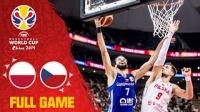 2019男篮世界杯 捷克 vs 波兰