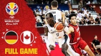 2019男篮世界杯 德国 vs 加拿大
