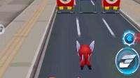 超级飞侠跑酷:乐迪的宠物发出陨石天降的技能