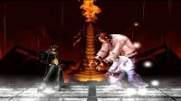 拳皇乱斗:变异草薙京虽然强,但是露腹肌的八神战斗力更豪横