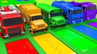 警车、消防车、校车,好多漂亮的玩具汽车
