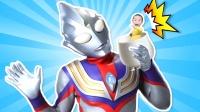 小超人奥特曼搞笑变形记,超级飞侠冰雪公主怎么拯救变小的宝宝?