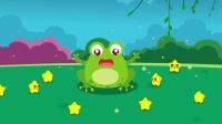 贪吃的小青蛙,吃了好多小星星哦