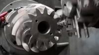 这种特殊齿轮的加工方式第一次见