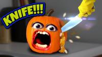 假如水果会说话,南瓜和橙子大战三百回合,场面爆笑不止!
