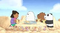 咱们裸熊:三只小熊建好了自己的城堡