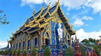 寺庙界中的一朵奇葩,通体全是蓝色深邃又凝重,看一眼就停不下来