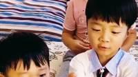 童年趣事:小萌娃们吃瓜了