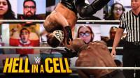 2020地狱牢笼大赛 复仇联盟成员打劫客挑战巴比莱斯利的全美冠军