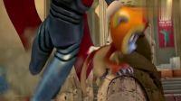 小悟空:大森以一敌三,妖怪们都被打败了,现在就差魔王了